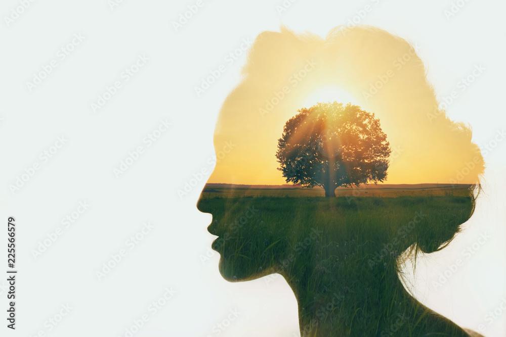 Fototapety, obrazy: Personal development and business idea career concept.