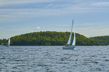 Sailboat On Lake Champlain 284