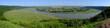 Ukraina - piękny widok na zakola Dniestru