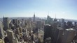 1080p 25P FHD Slowmotion Wide angle panorama of Manhattan