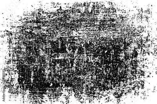 Fotografie, Obraz  Grunge Black And White Urban Vector Texture Template