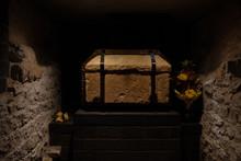 Coffin Of Saint Matthias In Cr...