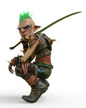 Elf Warrior Defender In A Whit...
