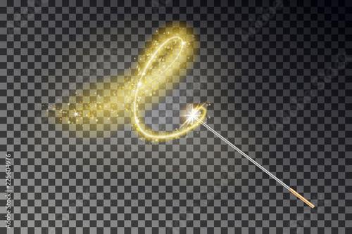 Obraz na plátně Magic wand vector