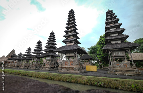 Taman Ayun Temple , Traditional balinese architecture. Bali island ; Indonesia