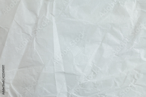 Fototapety, obrazy: Crumpled paper background.