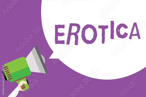 Erotic text to speech