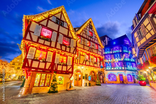 Fotografie, Obraz  Colmar - Christmas city in Alsace, France