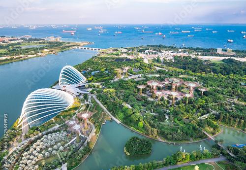 シンガポール ガーデンズ・バイ・ザ・ベイ 全景