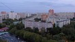 Residential urban area of Moscow city