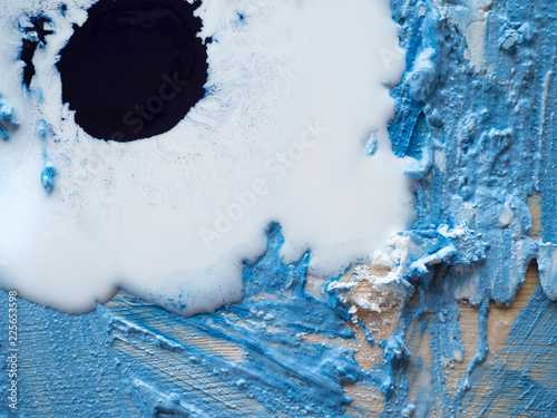 Wall Murals Crystals Beautiful Abstract Grunge Decorative white-Blue background wall Stucco, plaster. Artistic Rough Texture Of A Stylized Banner With Space For Text