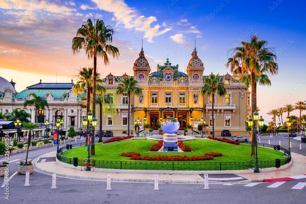 Fototapety, obrazy: Monte Carlo, Monaco - Casino