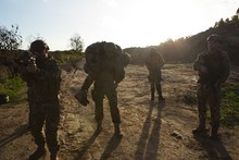 Military Soldiers Training Dur...