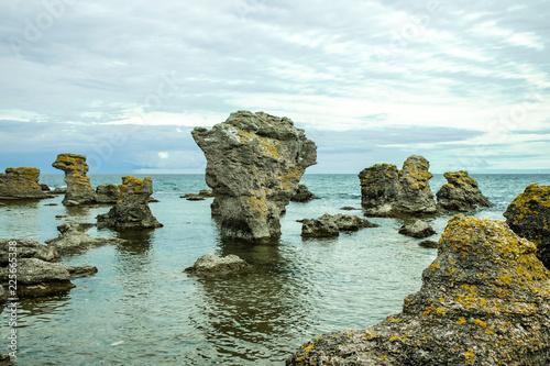 Photo  Rauken auf Gotland