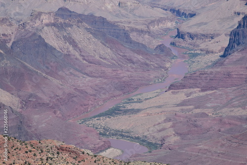 Tuinposter Lavendel Grand Canyon Views