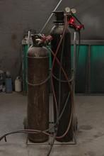 Gas Cylinders In Garage