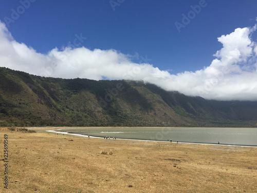 Photo Panoramic view of Crater Empakaai Ngorongoro Conservation Area) Tanzania, Africa