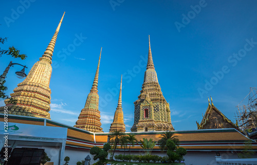 Foto  Wat Pho in Bangkok Thailand