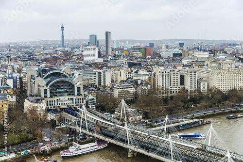 Fotografie, Obraz Charing Cross train station in London, United Kingdom