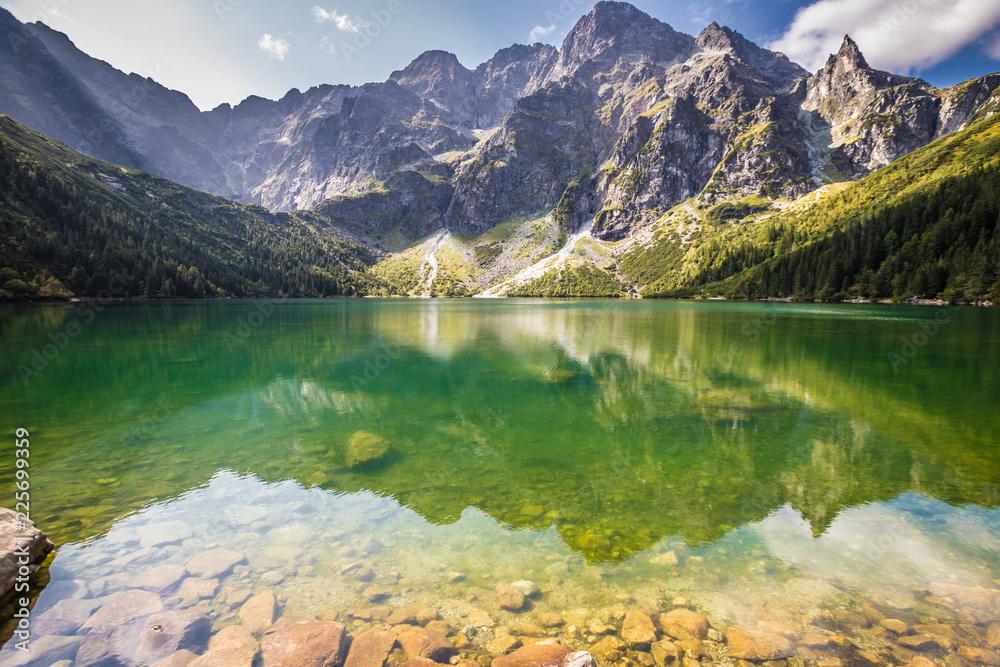 Fototapety, obrazy: Morskie Oko Lake in Poland