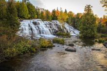 Michigan Autumn Waterfall Scen...