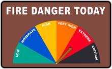 Extreme Fire Danger Roadside W...