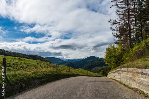 Plakat Droga w góry