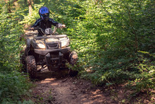 A Trip On The ATV On The Red R...