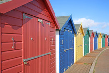 Beach Huts, Dawlish Warren
