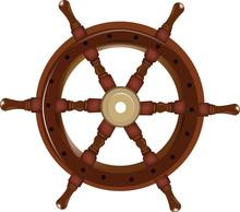 Timone In Legno Per Imbarcazione E Veliero
