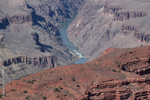 Papiers peints Cappuccino Grand Canyon Colorado River