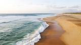 Hossegor/ Seignosse Beach Aerial View - 225727758