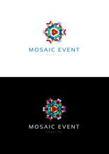 Mosaic Event Logo Teamplate.