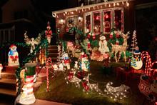 Christmas Light Decoration On ...