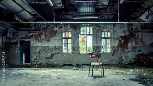 Fotografie, Obraz  Lost Place in east germany