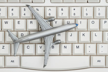 An Airplane On A Keyboard