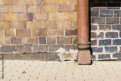 Fotografia, Obraz  Drainpipe on house wall