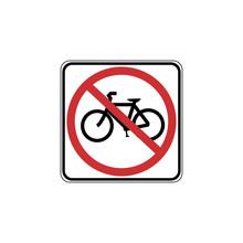 USA Traffic Road Signs. No Bic...