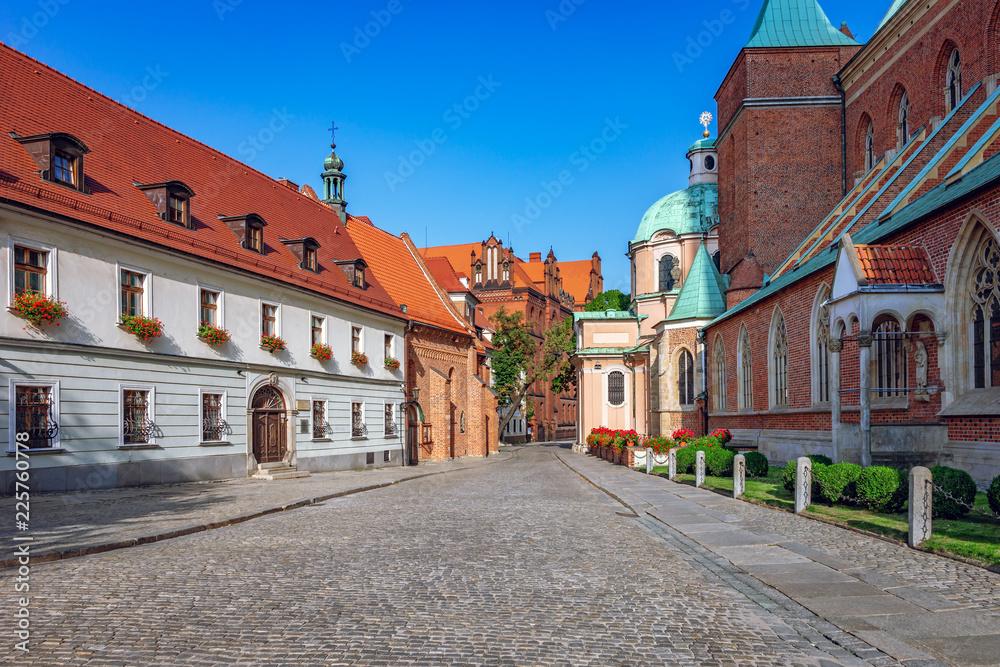 Fototapety, obrazy: Ostrów Tumski, Wrocław