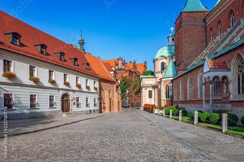 Obraz Ostrów Tumski, Wrocław - fototapety do salonu