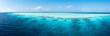 Maldives - Panorama d'un atoll