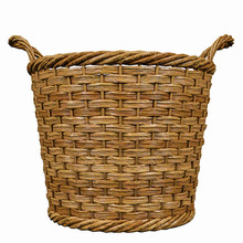 Basketry In A White Backgound