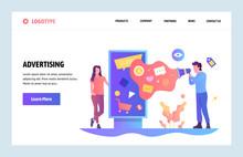 Vector Web Site Linear Art Des...