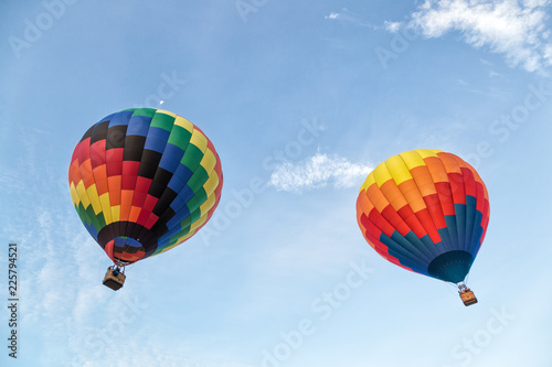 Fotografia, Obraz  Hot Air Balloons over the Sky
