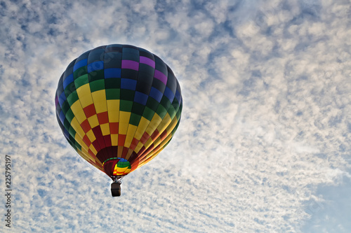Hot Air Balloons over the Sky