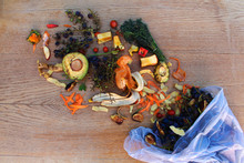 Domestic Waste For Compost Fro...
