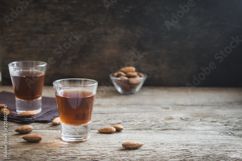 Italian liqueur Amaretto