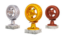 Sport Wheel Gold Silver And Br...