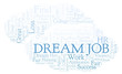 Dream Job word cloud.