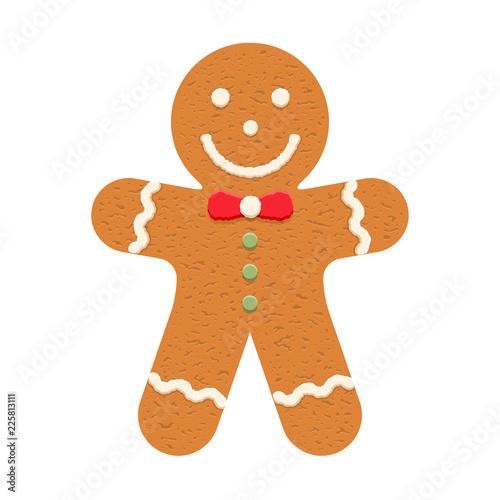 Canvas Gingerbread Man